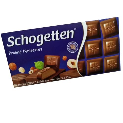 Chocolate Schogetten Pralinee Nougat