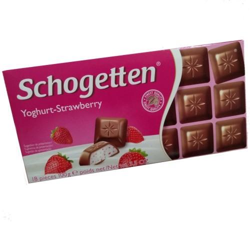 Chocolate Schogetten Iogurte Morango