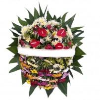 Coroa de Flores com 4 flores