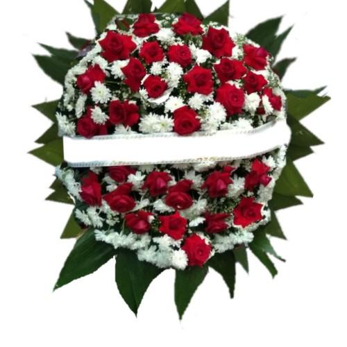 Coroa de Flores com 30 flores