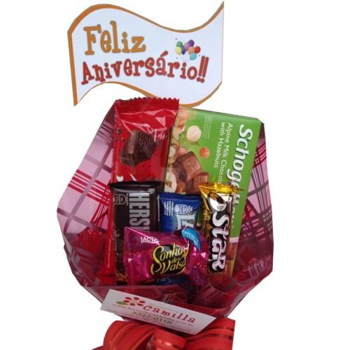 BUQUE DE CHOCOLATE ANIVERSÁRIO ESPECIAL