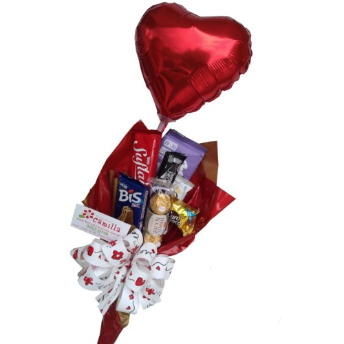 "BUQUE DE CHOCOLATE ""LOVE"""