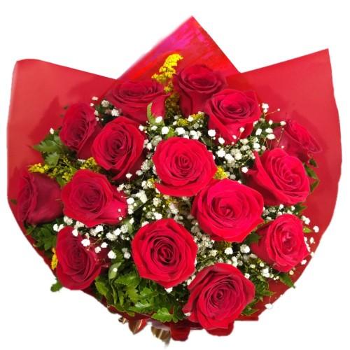 Buque de 15 Rosas Importadas