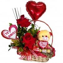 Cesta  Especial dia dos Namorados