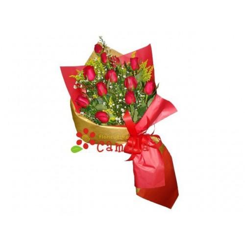Elegance com Rosas Importadas