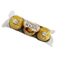 Ferrero Rocher com 3 und.
